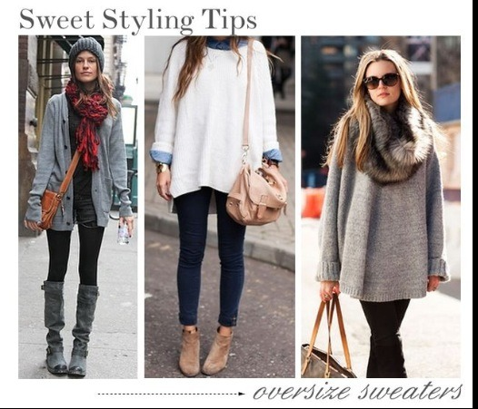 How To Style Oversized Sweaters By Maddie Ward Musely