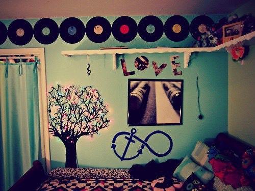 Any cute wall decor will look really nice 🌸