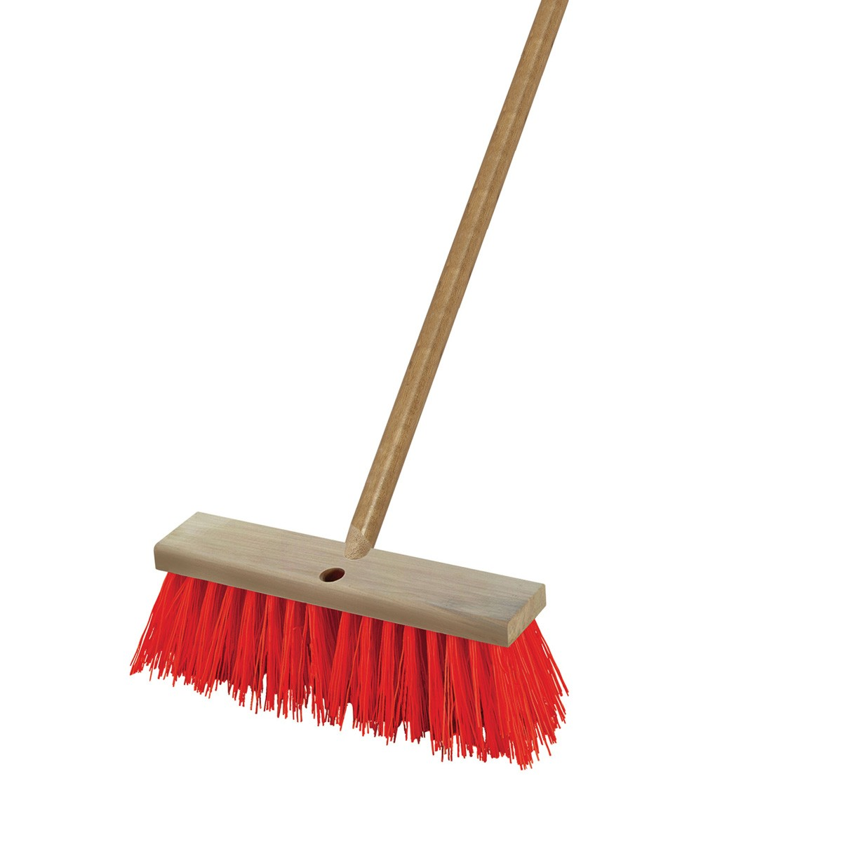 Gives brooms a long life a new broom will last longer if you soak its bristles in a bucket of salty water. After 20 mins ,remove the broom and let it dry.