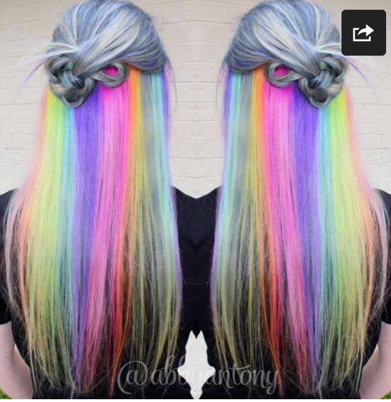 Hidden Rainbow Hiar
