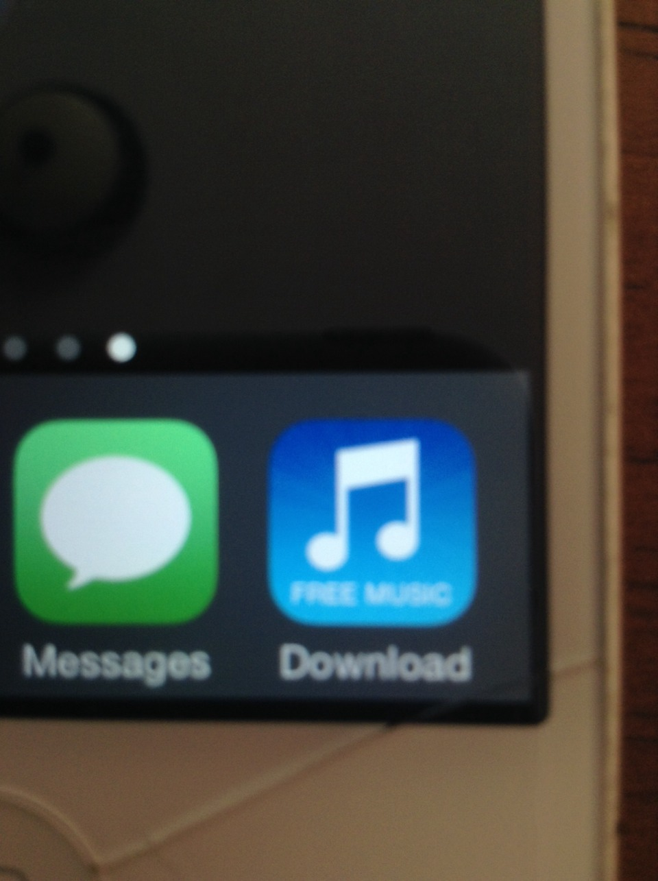 Get the app called Free Music Downloader which is blue and will look like the one in the picture.