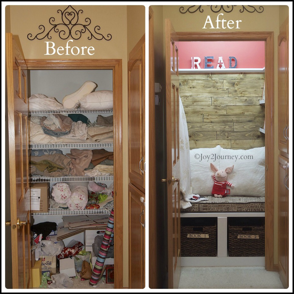 Turning A Closet Into A Kid Craft Space