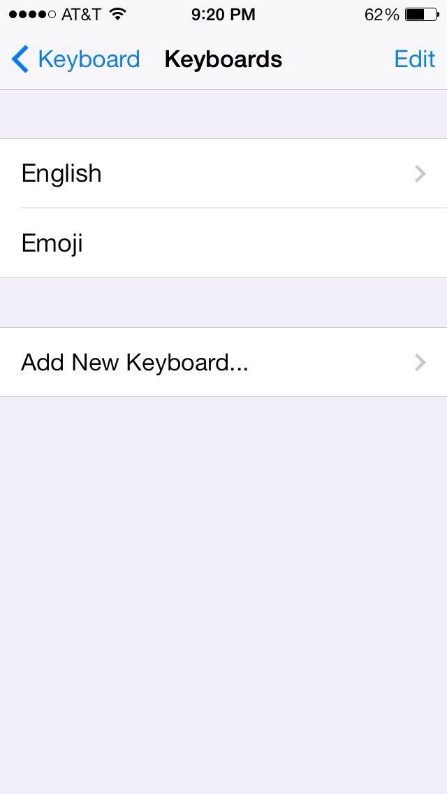 Just press emoji