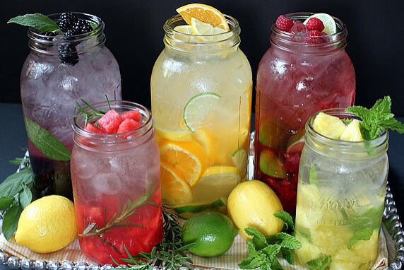 Monday- Friday: Before bed drink another bottle of fruit infused water.