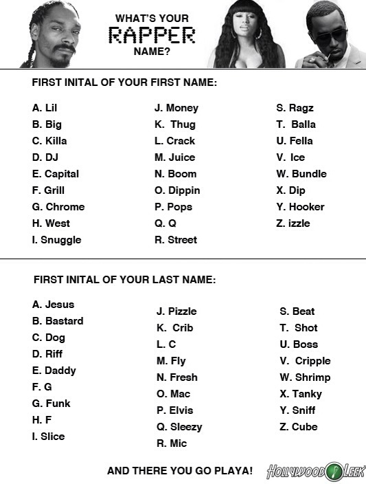 I'm 'Crack F'