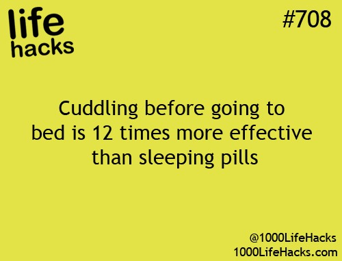 Saves money on pills and you get to snuggle. Win win situation