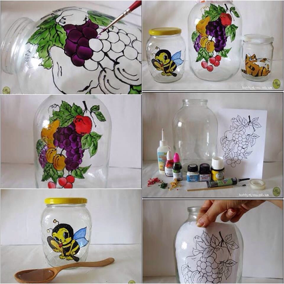 http://www.goodshomedesign.com/diy-jar-painting/