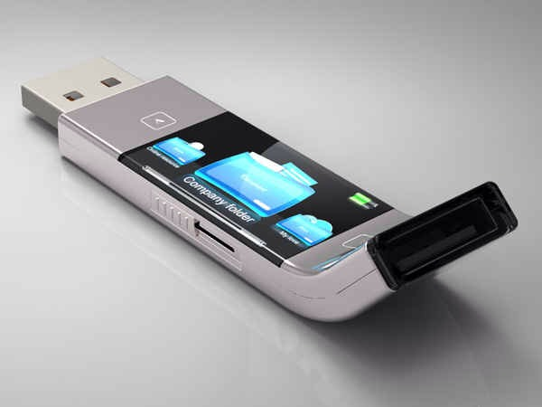 Your flash drives could display the files they contain.