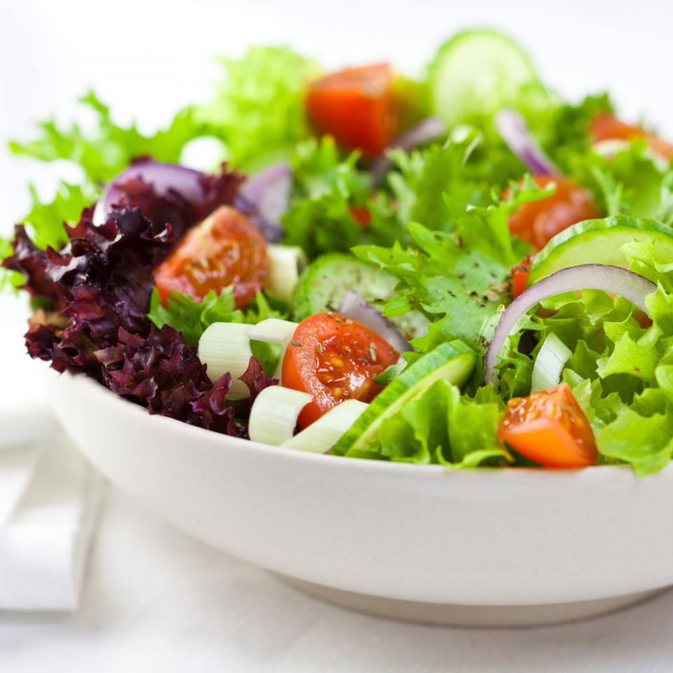 Fast-Cooking Tip No. 2: Have a Main Dish Salad  Main dish salads are the perfect summer supper -- cool, light, and quick to fix. Salad greens are the base ingredient and that's easy: just open a bag of salad greens or spinach leaves and pour into a bowl. Then throw in the rest of the ingredients!