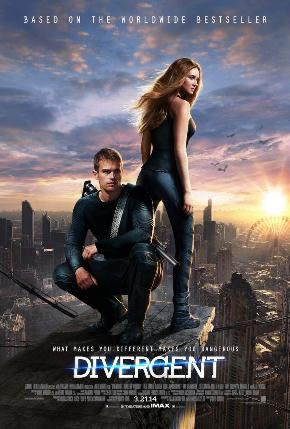 And last but not least, the Divergent series. This is a great series and a movie!!