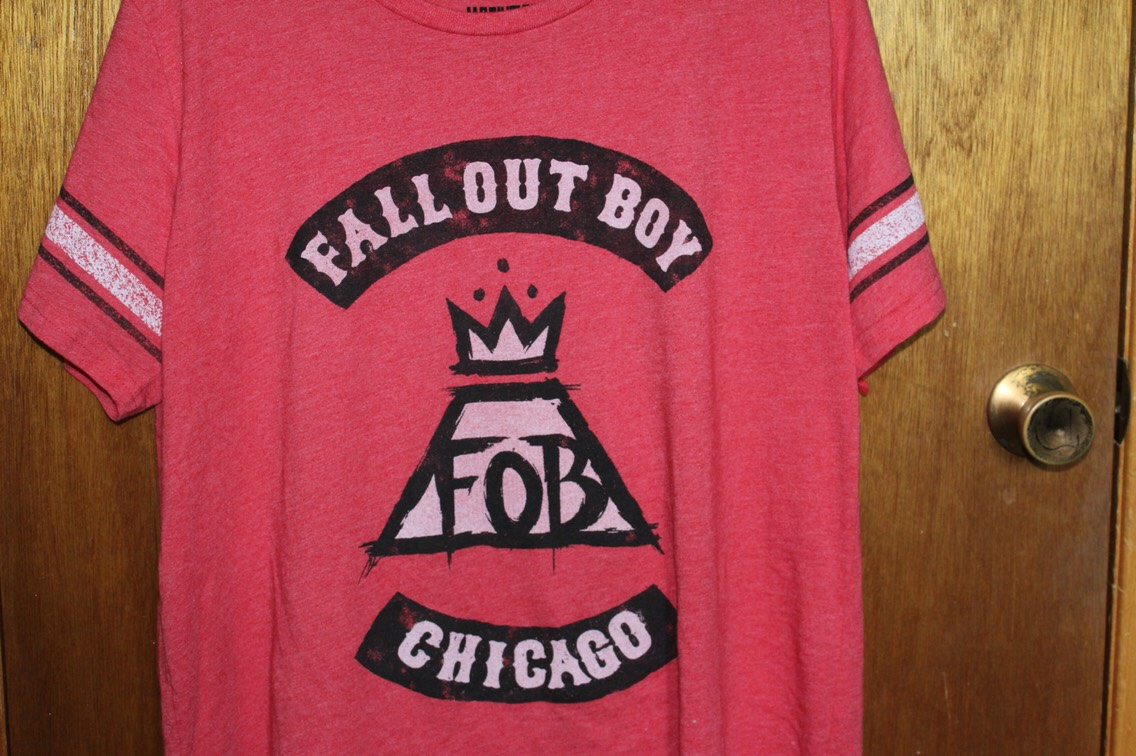 Band- Fall Out Boy Store- Hottopic
