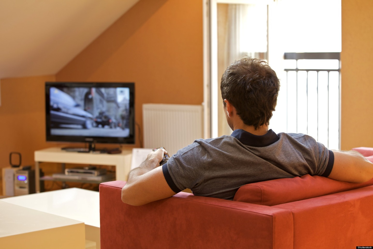 Watching tv: When you are eating while staring at the screen your mind is connected to what is happening in the program/video you are watching rather than focusing on the amount of food you intake.