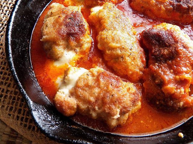 Serve with spaghetti or polenta.