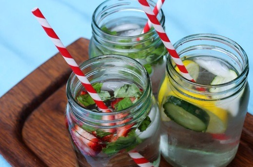 Infused water ideas!