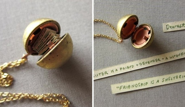 Message in a Locket ($34)