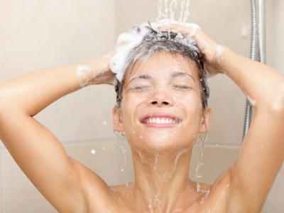 By washing your hair before going to sleep you will reduce frizz.