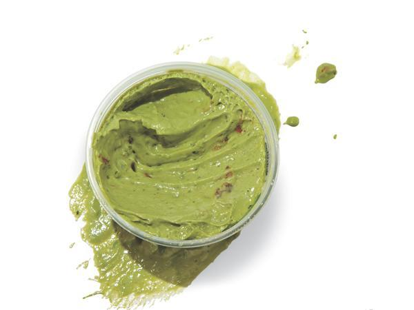 Mashed Avocado Snack  If you love guacamole, give this superquick spread a try. This delicious pineapple-avocado combination is something new and different.