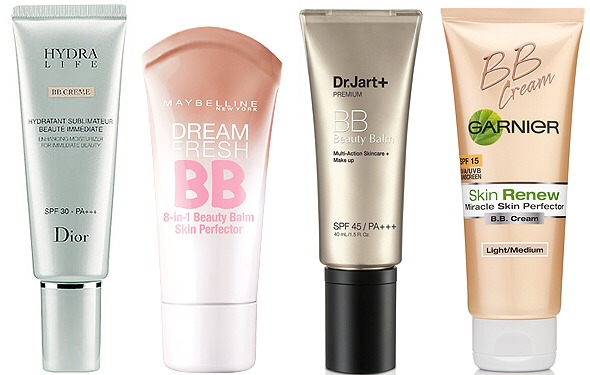 For the summer months, you don't want to be caked down in foundation, so try a tinted moisturizer or BB cream instead.