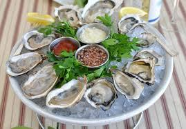 3. Oysters