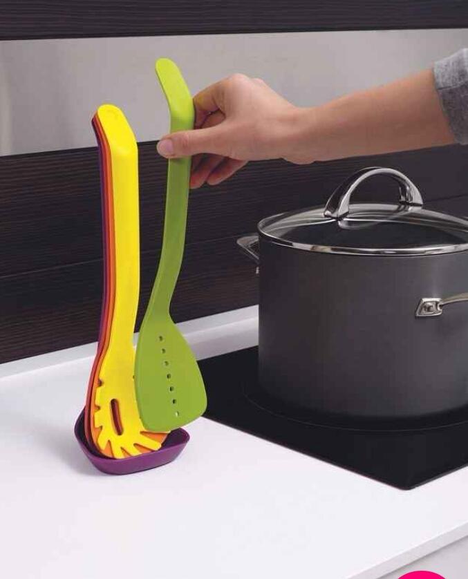 Nesting utensils.  ($21.42)  http://www.amazon.com/gp/aw/d/B00R86CV7E/ref=mp_s_a_1_1?qid=1455664577&sr=8-1&pi=SY200_QL40&keywords=joseph+joseph+nesting+utensils