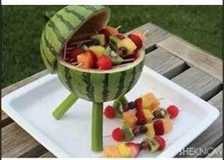 Fun watermelon grill!