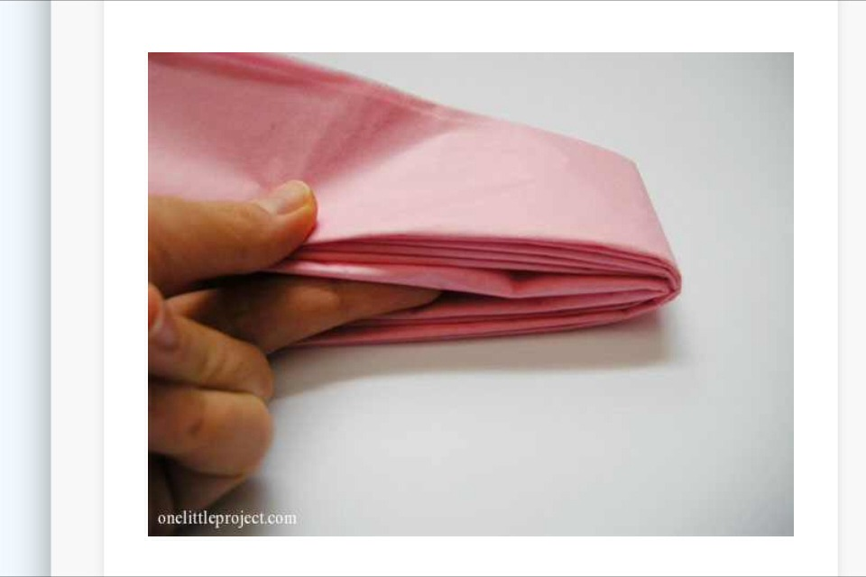 Find center and fold in half