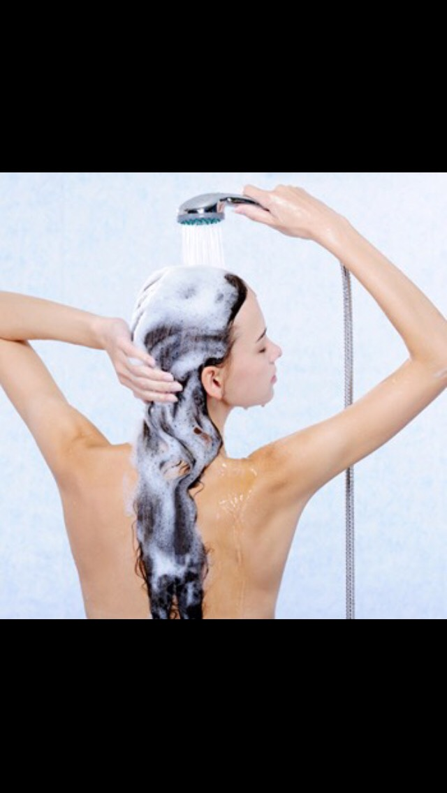 Use cold water to wash you hair