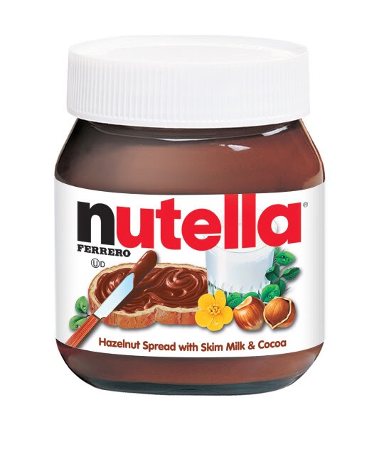 One third (1/3) of a cup of Nutella
