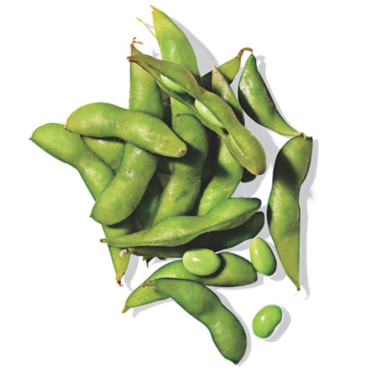 1/2 C EDAMAME (MEASURED SHELLED) Eating this protein-packed pick-me-up out of the shell will help make thehealthy snacklast longer.