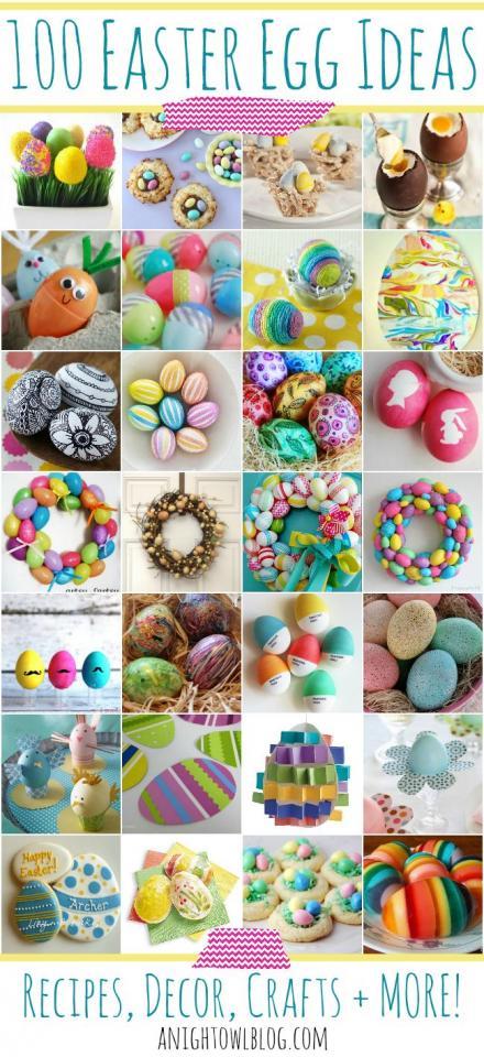 cute decorative egg ideas
