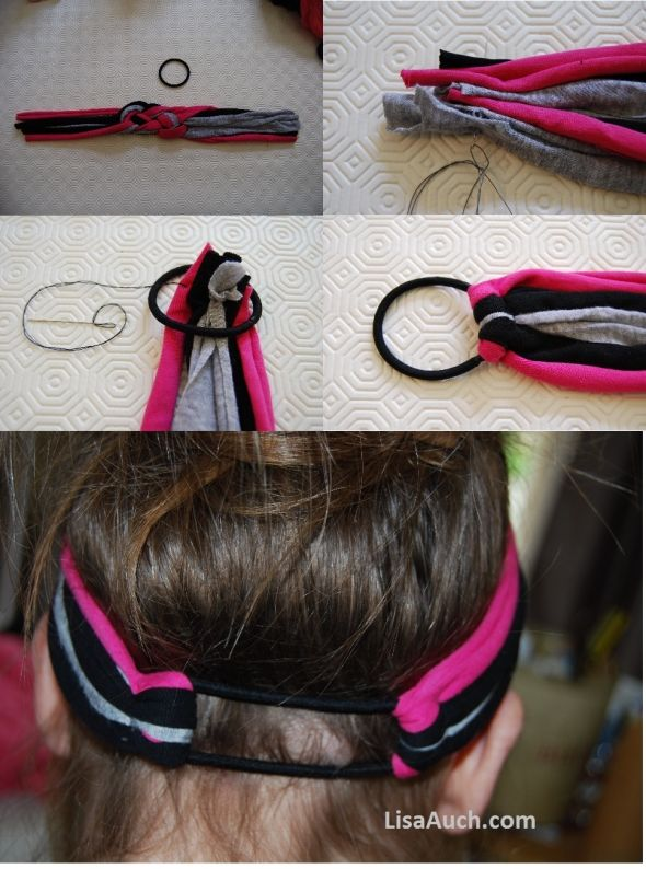 how to make your headbands fit all sizes !! :) ♥♡