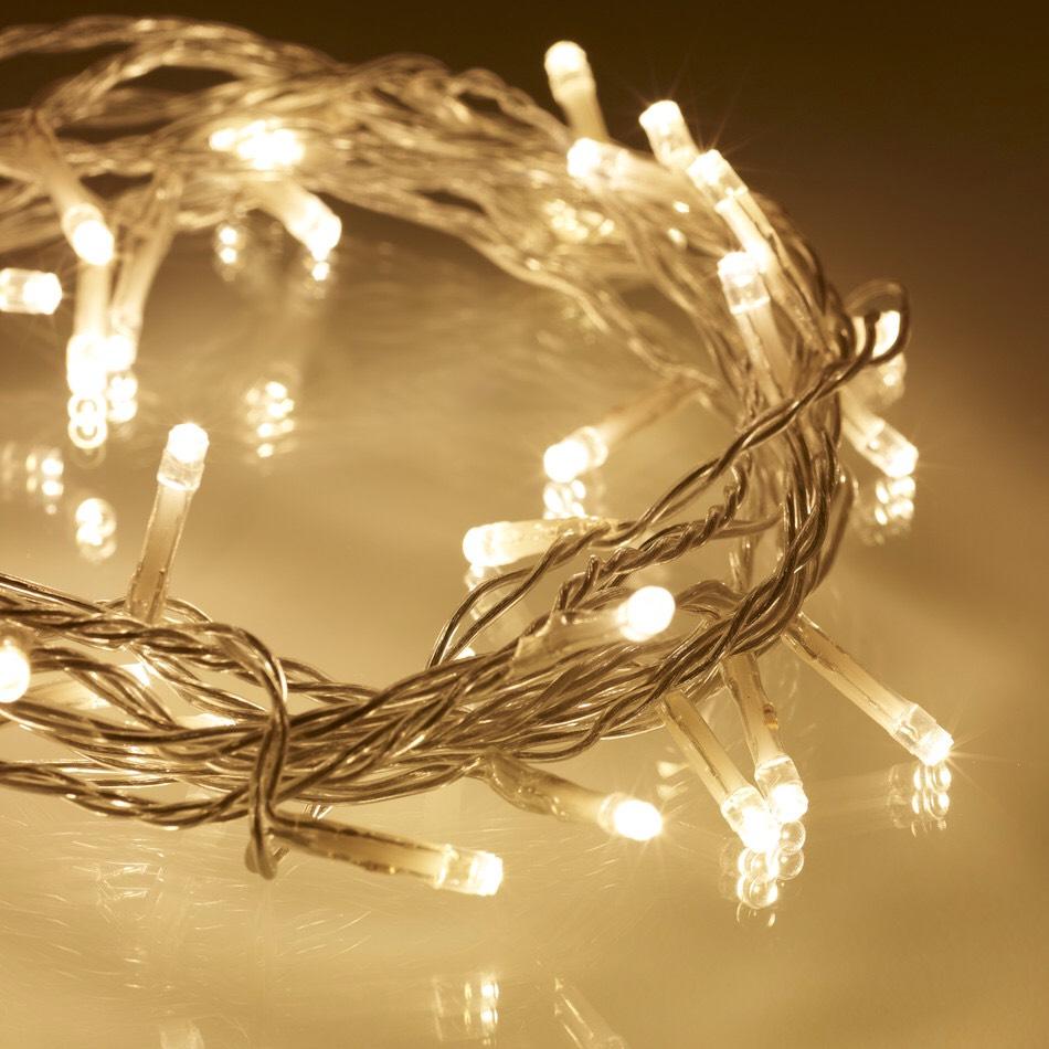 Some fairy lights