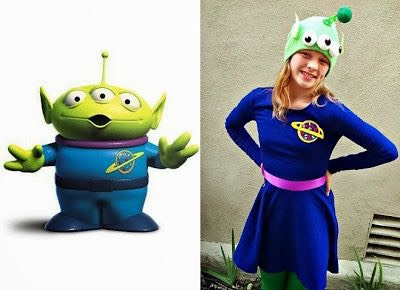 This would be a cute as a group costume!!👽
