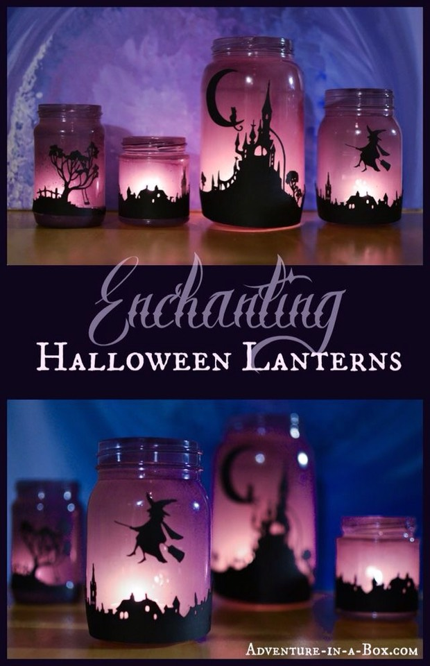 Enchanting Halloween Lanterns.