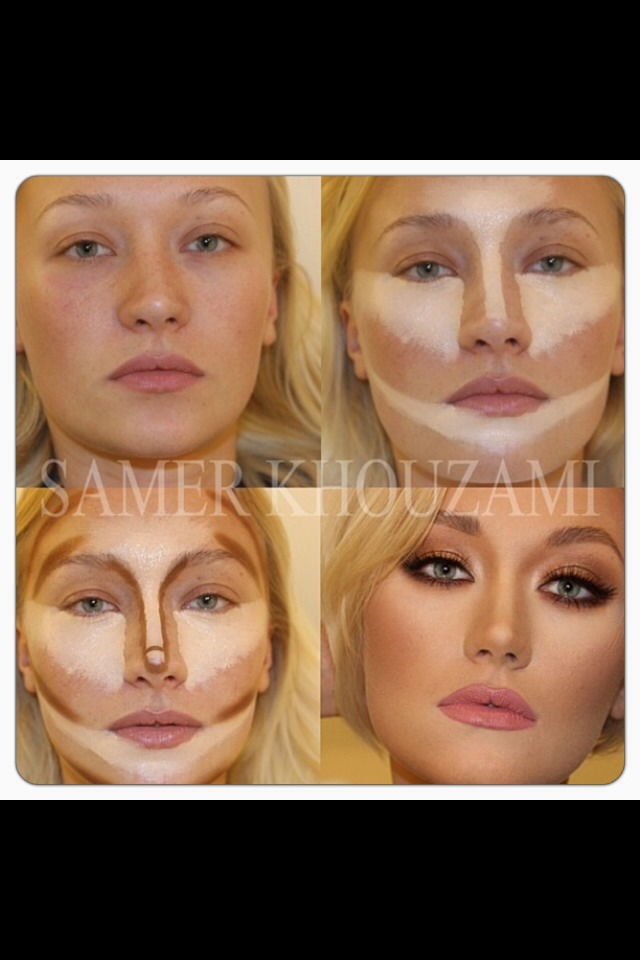 Using a powder brush or loose powder puff  (I prefer a powder puff) press loose powder onto the skin setting everything in place...