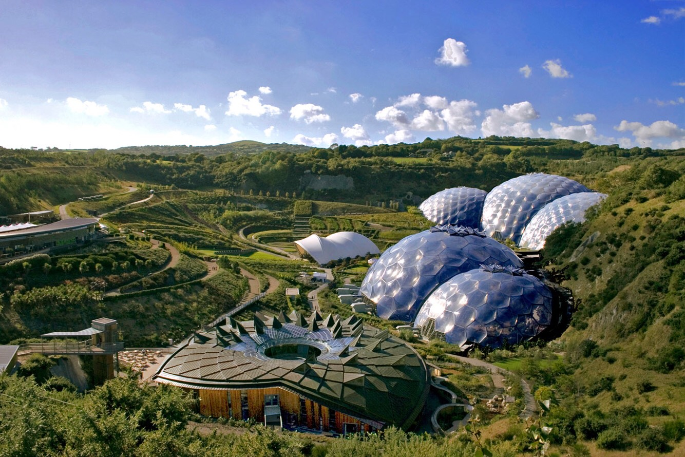 The Eden project. I don't go there very often but when I do I just love it. The tropical rain forest dome is my favourite because you really do experience what it's like. When it is winter they have ice skating which i find really good aswell.