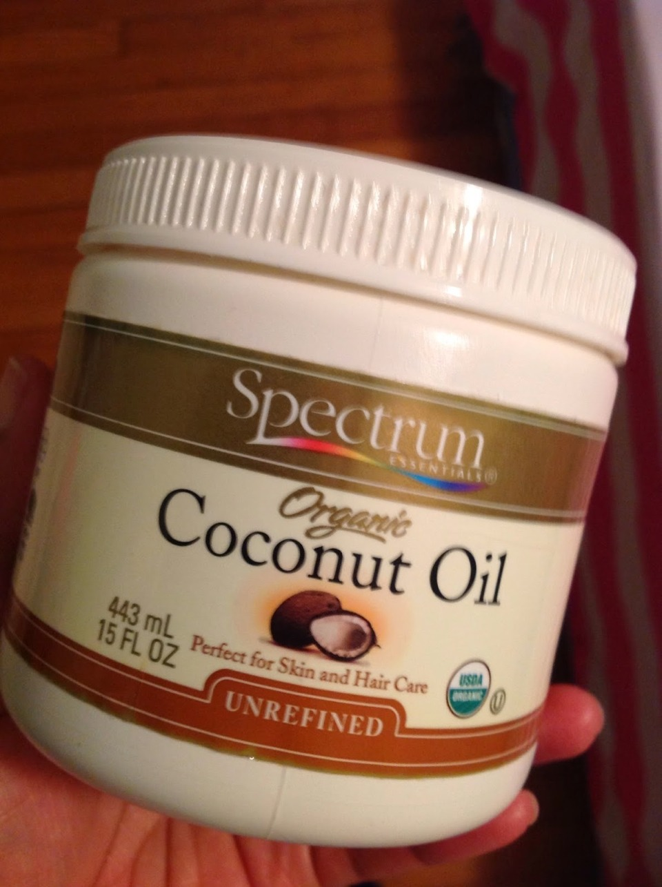 I have this one too. I know a lot of you have heard of this breakthrough beauty product by now. But did you know that it can actually reduce the appearance of cellulite and stretch marks if applied like a lotion? Awesome! Check out my tip on 101 coconut oil uses!!
