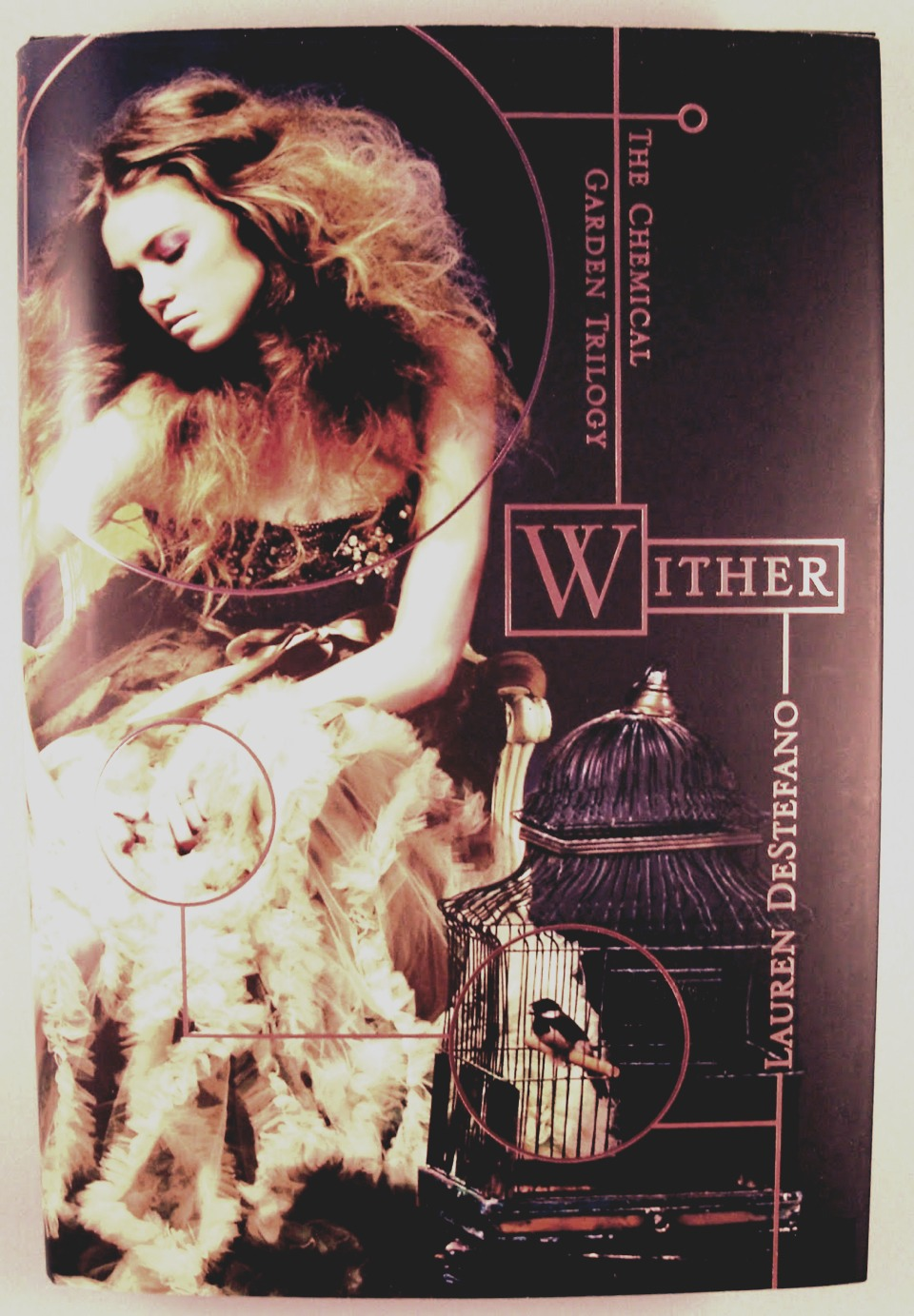 Dystopian trilogy by Lauren Destefano Whiter,Fever,Sever
