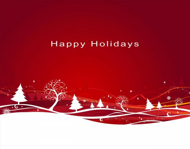 Good luck and happy holidays!