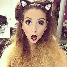 Zoella for makeup tutorials
