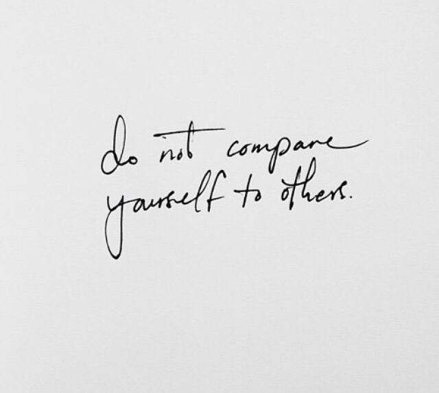 Do not compare yourself to others ! There will always be this someone who is prettier and more popular than you , enjoy the moment and forget those people !