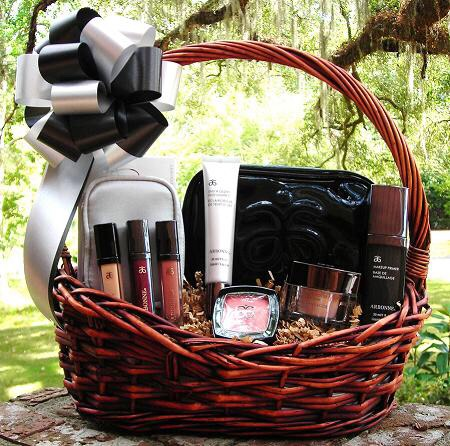 Make up gift basket