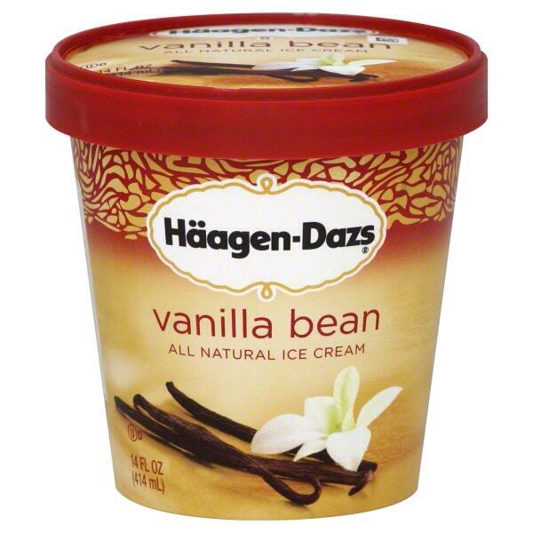 -2 scoops of vanilla bean ice cream  (Remember vanilla bean not regular Vanilla ice cream)