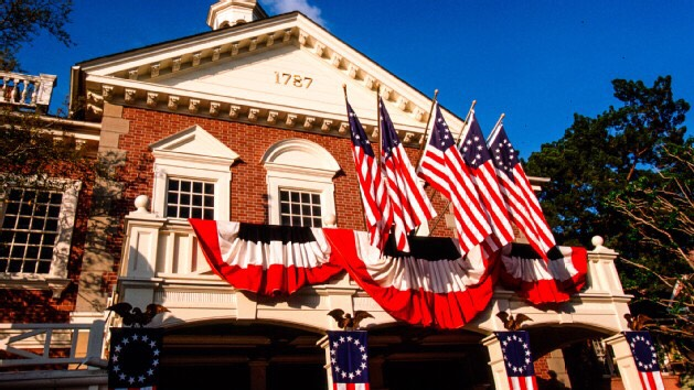 Hall of Presidents This is a show that features all 43 U.S. Presidents on stage together in a patriotic celebration tracing the history of the United States.  Height: Any FP+: No