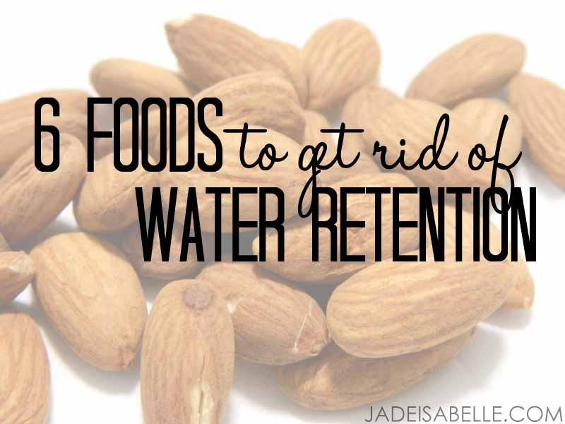 """Common causes of water retention:  the """"time of the month"""" (ladies!),  consuming too much sodium,  not drinking enough water, lack of potassium and/or magnesium."""