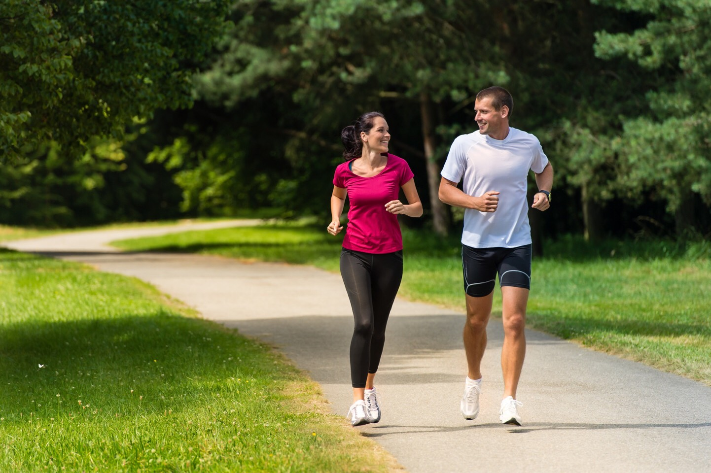 If you run with a friends or family can lose weight while hanging out with people you love