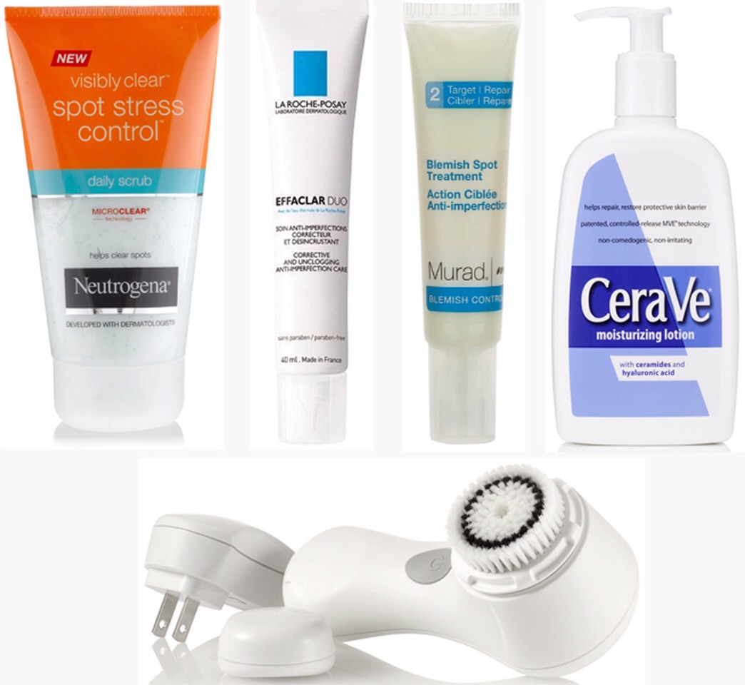 All of of these products clearly don't work for acne 🙅