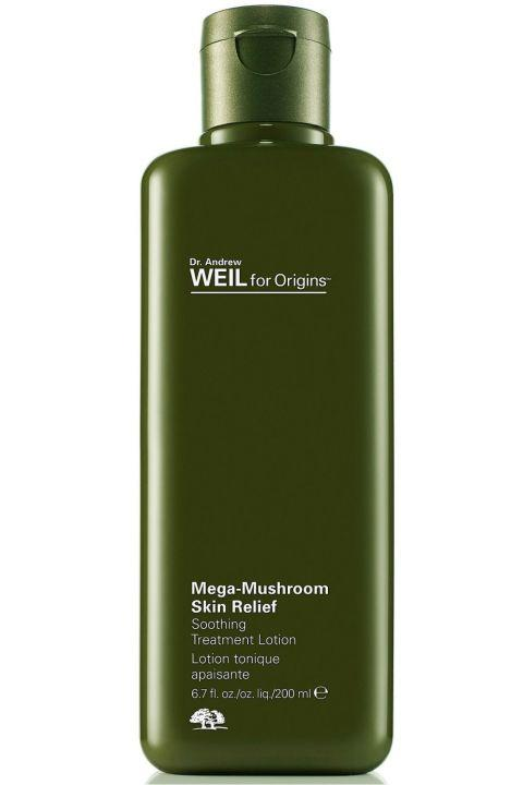 19. Origins Dr. Weil Mega-Mushroom Skin Relief Mushrooms aren't just for your pizza! This serum makes your skin supple, smooth and resilient, and acts like a bouncer against harsh irritants like pollution.