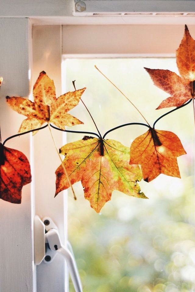 DIY Fall Autumn Lights.