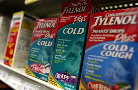 Try over-the-counter medicines. Cough and cold medications can bring some relief